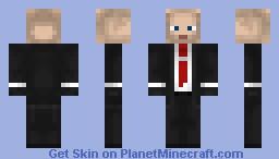 Agent 47 [Hitman] Minecraft Skin