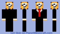 Agent item box Minecraft Skin