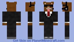 Agent  Bear Minecraft Skin