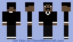 Agent J or Will Smith Minecraft Skin