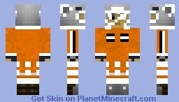 Agito Akito Lind Wanijima Orange Jacket ~Air Gear~ エア·ギア Minecraft Skin