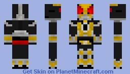 Kamen Rider Agito Minecraft Skin