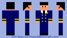 Airline Pilot Minecraft Skin