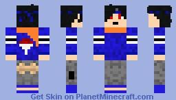 My Naruto Character Minecraft Skin