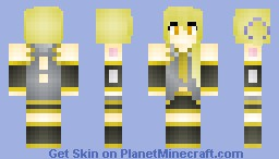 Akita Neru (requested) Minecraft Skin
