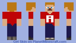 Alabama Football Minecraft Skin