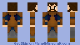 Alax Captain of the Guard for House Tawney Minecraft Skin