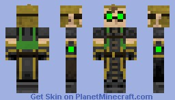 Green Edited Alchemist Minecraft Skin