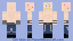 Alex Louis Armstrong (Full Metal Alchemist) Minecraft