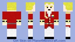 Alfred Ashford (Resident Evil: Code Veronica) Minecraft Skin
