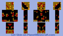 Alias the god of demons (for contest) Minecraft Skin