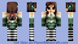 Alice MR. Caterpillar Dress. Minecraft Skin