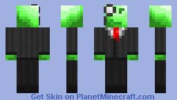 Alien Gentleman Minecraft Skin