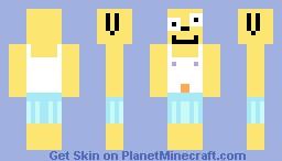 Almost Naked Animals - Howie Minecraft Skin
