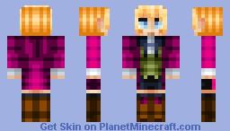 Alois Trancy - Black Butler II Minecraft Skin