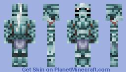 Alphonse Elric (Armor) from Fullmetal Alchemist Minecraft Skin