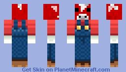 cow farmer Minecraft Skin