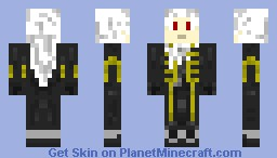 Alucard Minecraft Skin