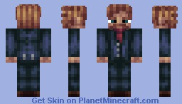 A Man With a Plan Minecraft Skin