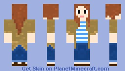 Amy Pond (The Angels Take Manhattan) Minecraft Skin
