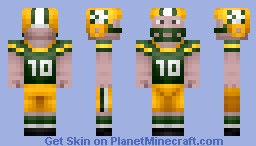 NFL Football Player Collection (ALL 32 NFL TEAMS) Minecraft Skin