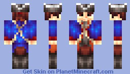 Continental Soldier [Skin Battle with WadeSpector] Minecraft Skin