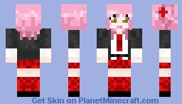 Amu Hinamori || School Uniform || from Shugo Chara || Minecraft Skin