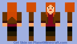 Amy Pond Minecraft Skin