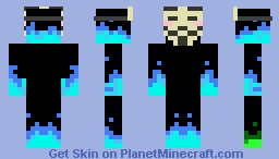 Sick skin with anonymous mask! Minecraft Skin