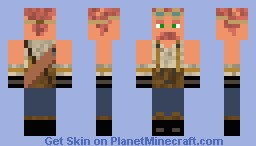 Anation the Gnome Minecraft Skin