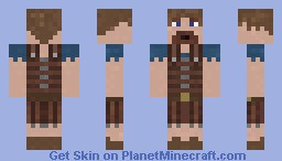 Gaelic Warrior Minecraft Skin