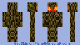 Ancient Protector of The Deep Jungle (Looks alot Better in 3D!) Minecraft Skin