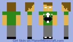 Andrew Hussie - Homestuck Minecraft Skin