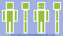 Android Logo Skin Minecraft Skin - Minecraft skins fur android