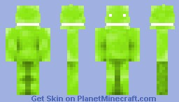 Android (Google's Operating System Mascot) Minecraft Skin