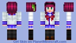 Angel Beats! - Yurippe Minecraft Skin