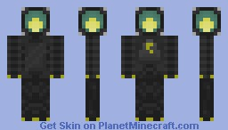 A.L.A.N (Automated Luminating Assistant Noid) Minecraft Skin