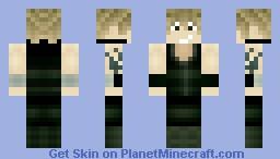 Anime Earth Warrior Minecraft Skin