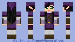 AnnaCraftyEyes's Custom Knight of Skyloft Minecraft Skin