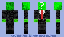 Anonymous Green [3d wiew is better] Minecraft Skin