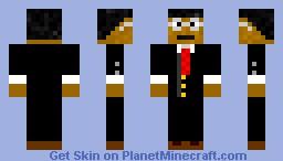 Nerd. Minecraft Skin