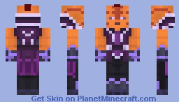Anti-Mage ( Dota 2 ) Minecraft Skin