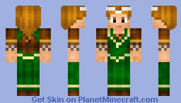 Aoife MacMurrough(Medieval Princess)(Contest) Minecraft Skin