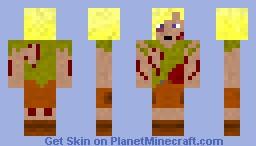 Apocalypse Survivor Girl Minecraft Skin