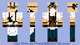Smithy, The Oily Apocalypse Mechanic Merchant (Contest) (read description) (better in 3D) Minecraft Skin
