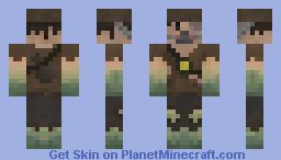 Half Infected Survivor(Contest) Minecraft Skin