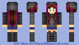 My Version of Aquatta! (For her Contest) ろsぃな ♫ Minecraft Skin