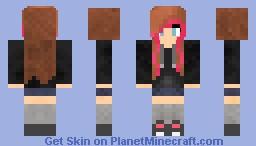 Aquatta :3! Welcome ! Minecraft Skin