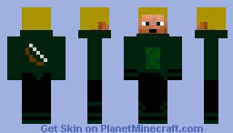Green Archer (toonhero303 request) Minecraft Skin