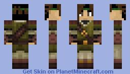 Keitaro - Archer Minecraft Skin